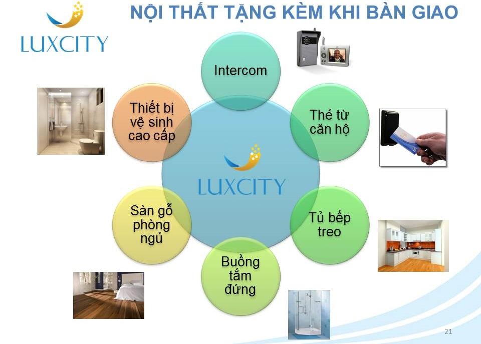 Tiện ích Lux city