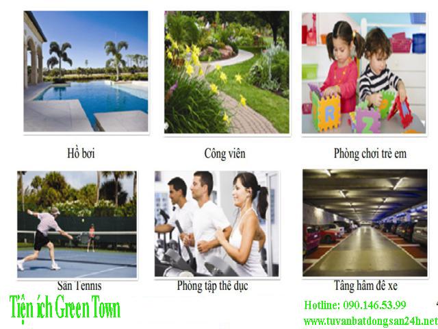 Tiện ích Green Town