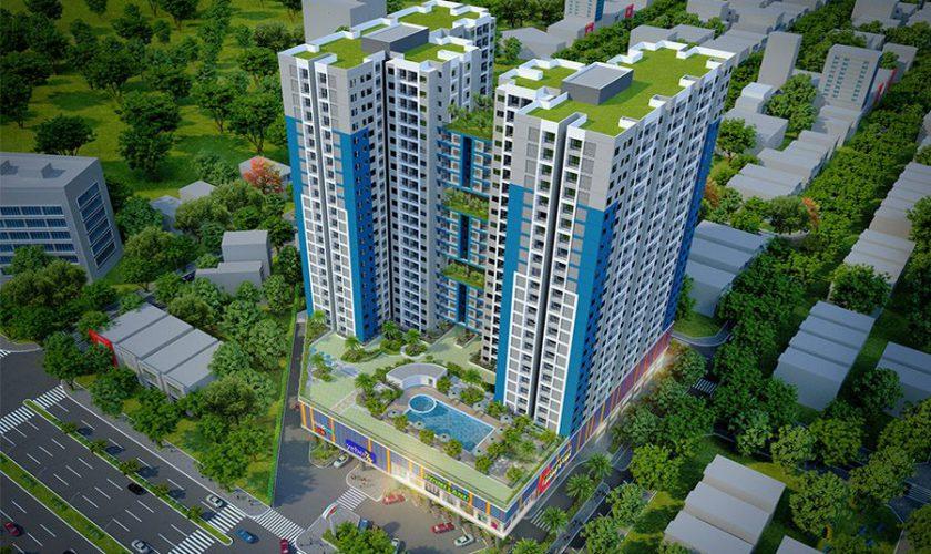 Phối cảnh dự án căn hộ saigon Avenue, căn hộ tọa lạc đường Vành đai 2 Thủ Đức. Hotline: 0911260121