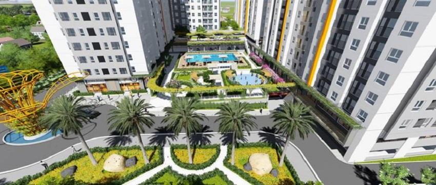 Tiện ích dự án căn hộ samsora Riverside Tân vạn