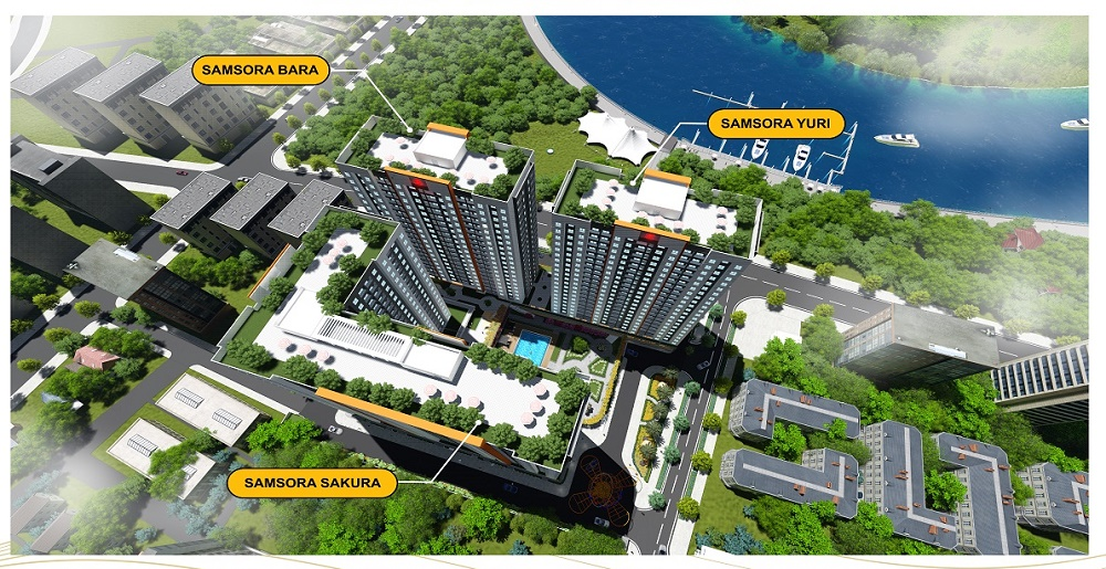 Phối cảnh dự án Samsora Riverside