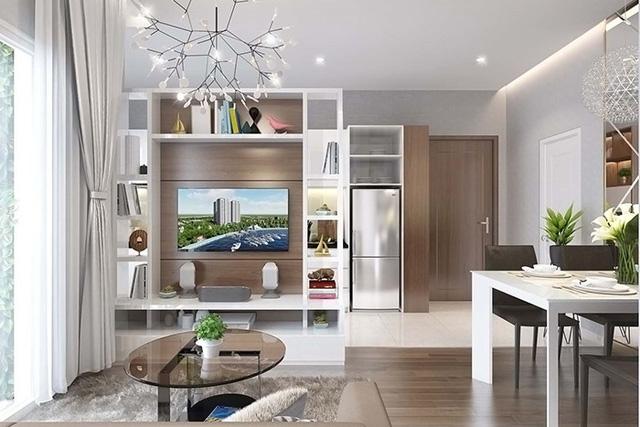 Nội thất căn hộ Samsora Riverside