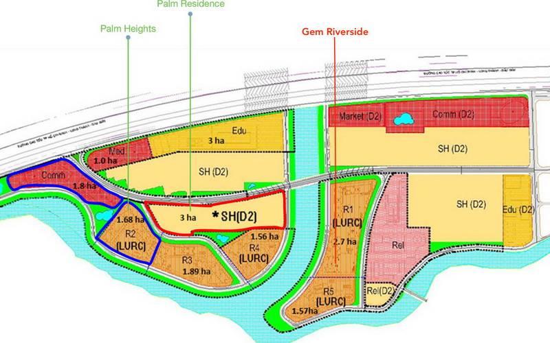Quy hoạch khu đô thị Nam Rạch Chiếc
