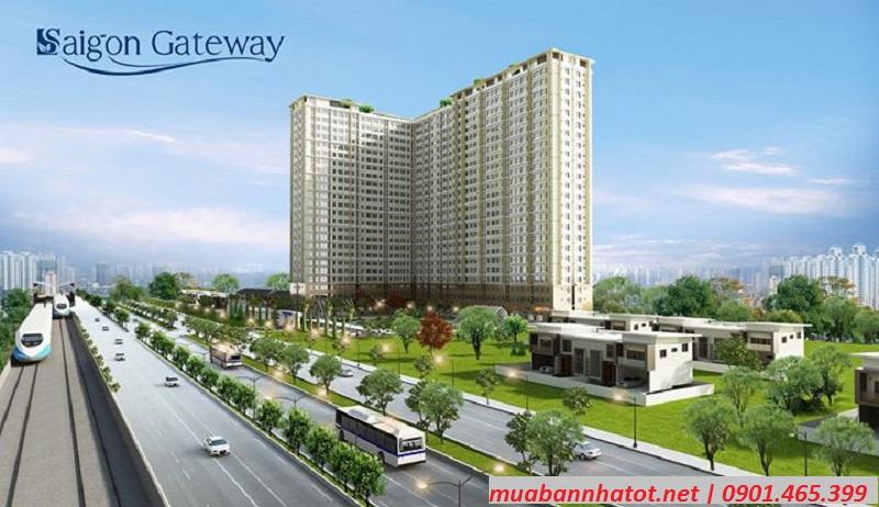 Phối cảnh Saigon Gateway