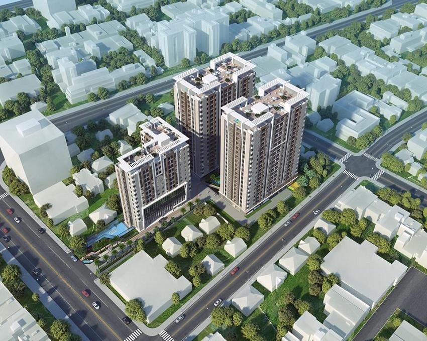 Phối Cảnh dự án Luxcity Quận 7